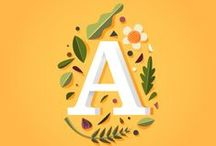 Word / alphabet, typography, lettering, calligraphy, and quotes / by Amanda Conrad