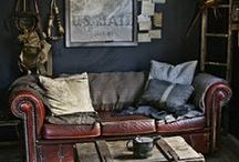 Home Dressing / Styles- color palettes- furnishings-Homes-Interior and exterior design I am drawn too. / by Maxine Kunasek