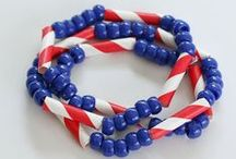 Patriotic Crafts for Kids / Red, white and blue inspiration for kids