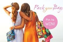 "Vera Bradley Pack Your Bags - Tea in London / my entry in the vera bradley february 2013 ""pack your bags"" sweepstakes"