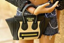 Miniature Purses / Miniature fashion doll and dollhouse size handbags. / by Lisa Delgadillo-Munford