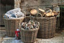 Baskets / Manden Panier Baskets