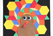 Thanksgiving Crafts and Activities for Kids / Tons of ideas for Thanksgiving inspiration~ Thanksgiving crafts, snacks and learning activities for kids!