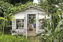 Greenhouse & shed. / Greenhouse Kas Sheds Schuurtjes Pottingshed