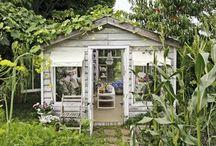 Greenhouse & shed. / Greenhouse Kas Sheds Schuurtjes Pottingshed