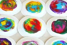 Process Art for Kids / Process art projects and ideas for preschool, kindergarten, and elementary aged children!
