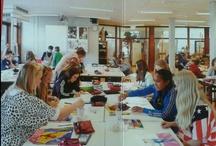 kunstplein 2d/art classroom 2d
