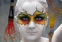 make-up kunst-visagie/make-up art-body painting