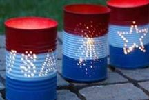 Red, White & Blue / by Amy Shears
