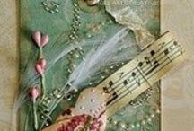 Sheet Music Art /Crafts / You don't have to play an instrument to appreciate sheet music! / by Kim Millard