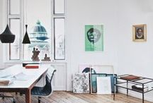 Creative Space / Big or small, a place to have it all out in front of you is precious...