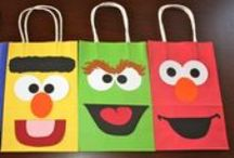 Sesame Street Birthday Party / Ideas for Sesame Street birthday party decorations, goody bags, cake & food. / by Angela Mabray