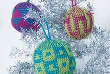 Hanukkah and Christmas Crochet / Celebrate the holidays by creating a Christmas tree skirt pattern, crochet Christmas ornaments, or a crochet Christmas stocking with these crochet Christmas patterns.  / by Crochet Me
