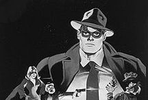 The Spirit / ...is a fictional masked crimefighter created by cartoonist Will Eisner.
