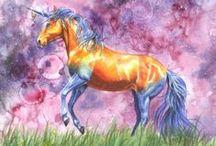 Pegasus~♡Unicorns°•~ / Mythical Beautiful Creatures....Unicorns and Pegasus! !!