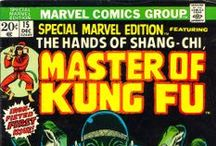 The Hands of Shang-Chi / ...Master of Kung Fu is a Marvel Comics character, created by writer Steve Englehart and artist Jim Starlin.
