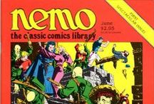 Nemo, the Classic Comics Library / ...was a magazine devoted to the history and creators of vintage comic strips. Created by comics historian Rick Marschall, it was published by Fantagraphics and ran from 1983 to 1990.