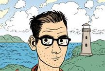 Dylan Horrocks /  ...is a cartoonist in Auckland, New Zealand. He is best known for his graphic novel Hicksville and Sam Zabel and the Magic Pen.