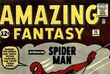 Spider-Man / ...is a fictional character, a comic book superhero that appears in comic books published by Marvel Comics. Created by writer-editor Stan Lee and writer-artist Steve Ditko, he first appeared in Amazing Fantasy #15 (cover-dated Aug. 1962).