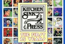 Kitchen Sink Press / ...is a comic book publishing company founded by Denis Kitchen in 1970.