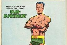 Namor the Sub-Mariner / ...is a comic book superhero and sometime antihero that appears in Marvel Comics.