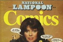 National Lampoon / ...is a ground-breaking American humor magazine which ran from 1970 to 1998.  / by Comic Iconography