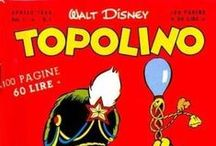 Toplino / ...means Mickey Mouse and is an Italian Disney comic book, begun in 1949.