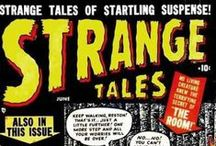 "Strange Tales /  ...is a Marvel Comics anthology series, features ""Doctor Strange"" and ""Nick Fury, Agent of S.H.I.E.L.D."", and was a showcase for the artists Jack Kirby and Steve Ditko."