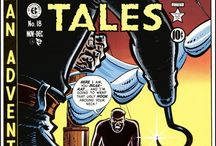 Two-Fisted Tales / ...was a bimonthly, anthology war comic published by EC Comics in the early 1950s. The title originated in 1950 when Harvey Kurtzman suggested to William Gaines that they publish an adventure comic