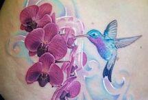 BodyCanvas✒✏☄ / Watercolour tattoos!!