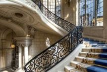 Staircases & Entryways / Foyer/Entryway and Staircase design/decor. Indoors and Outdoors.