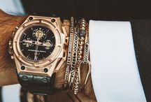 Mens Bling & Clobber°•☆☆ / Mens jewellery,  accessories,  Bling,  rings, watches....fashion. ...you name it !!!!!⌚