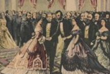 """Style, Society, and Mrs. Lincoln / Images that illustrate the discussion at """"Her Form Inclines to Stoutness,"""" a """"Mrs. Lincoln's Salon"""" program held at the Mary Todd Lincoln House in November 2015"""