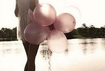 BALLOONS//POMPOMS / BALLONS AND POMPOMS / by Anya Jensen