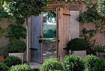 Garden, terrace and patio / by Aurelie Lily