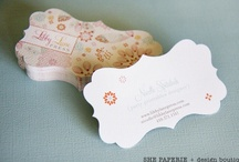 Business cards / by Aurelie Lily