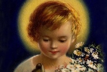 """Mary, the Saints, and Prayers / Let us run to Mary, and, as her little children, cast ourselves into her arms with a perfect confidence. --Saint Francis de Sales  """"Pray, Hope, and Don't Worry"""" -St. Pio of Pietrelcino  """"All the darkness in the world cannot extinguish the light of a single candle."""" -St. Francis / by LuAnne Balfrey Patrick"""