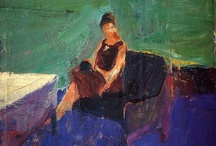 Art: Figure - Seated / Form, posture, line, foreshortening, composition / by Sue Rhodes