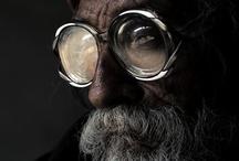 Art: Portrait closeup / Expression, position, light, composition, Essence / by Sue Rhodes