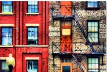 Art: City and Street-scapes / by Sue Rhodes