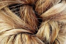 Study: Hair / hair, hairline, sheen, texture, nape, baldness / by Sue Rhodes