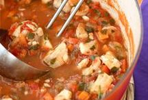 Soups, Stews and Chili & pizzas / by Beth