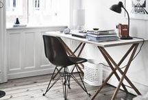 CREATIVE SPACE / YOUR CREATIVE SPACE, WORKSPACE, OFFICE SPACE, WHERE YOU CREATE / by Anya Jensen