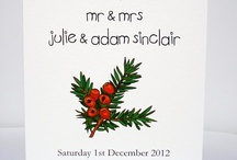 Winter and Christmas Wedding / by Beadazzle Designs