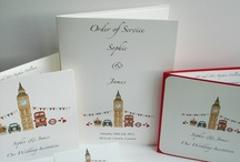 London Themed Wedding Stationery / Ideal for a London Themed Wedding!! / by Beadazzle Designs