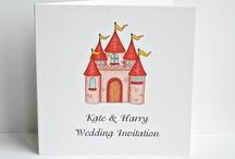 Fairytale Wedding Stationery / by Beadazzle Designs