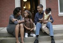Michelle and Obama