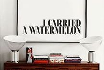 ON MY WALL / TYPOGRAPHY, ILLUSTRATIONS, GRAPHIC DESIGN ON MY WALL / by Anya Jensen