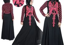 Abayas - MyBatua / Designer Modern Islamic Abayas and Jibabs. Largest collection of trendy modest Abayas with quality fabric and affordable prices.