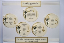 Wedding Table Plans / by Beadazzle Designs